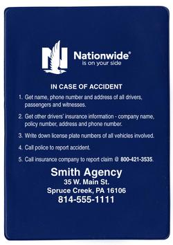 Nationwide Claims Phone Number >> Nationwide Insurance Card Holder Style 807n 1 Free Ground